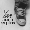 A man in sexy shoes...