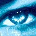 Eye Pixelated